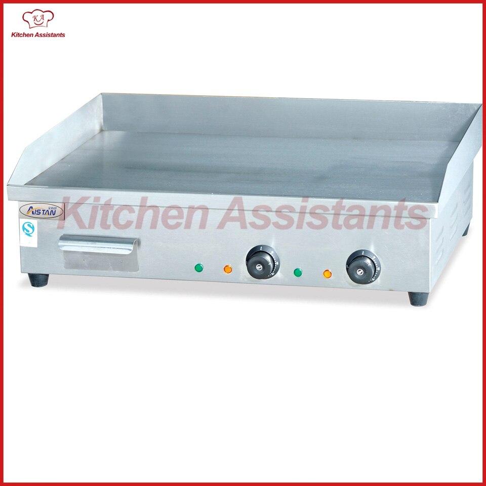 EG820 électrique commerciale comptoir plaque gril machine