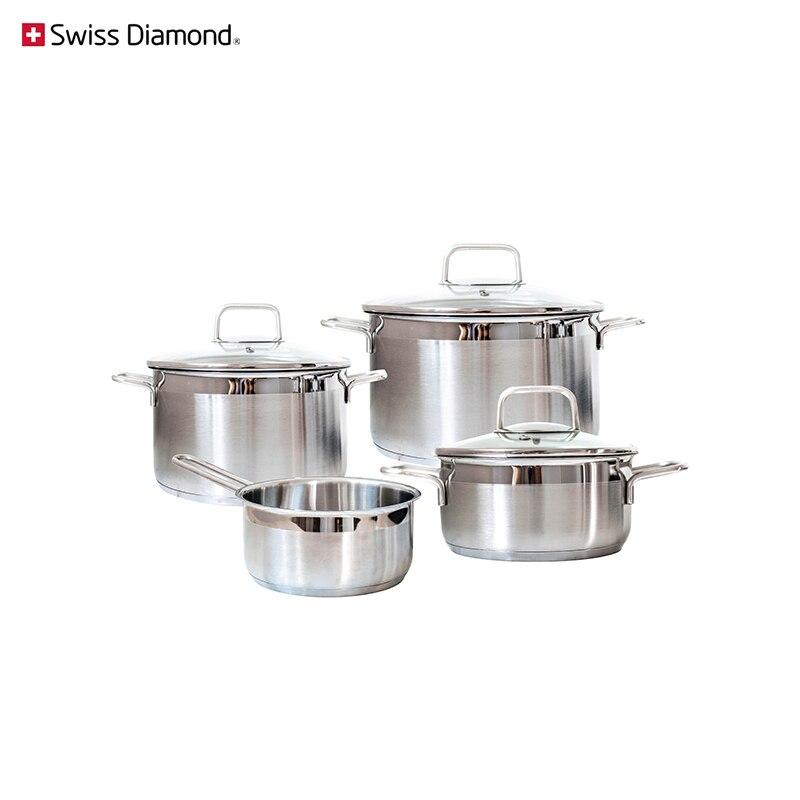 Dinner set Swiss Diamond SD PS SET L4 cookware for kitchen tableware dinnerware