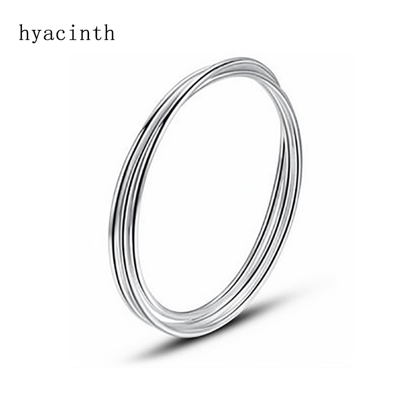 2018 Closed Bangle Simple Style 999 sterling jewelry bracelet three thick smooth circle cross full bangle bracelet for women frommer s® denver boulder