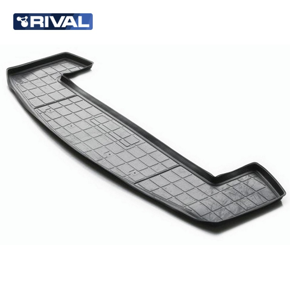 For Chevrolet Captiva 2011-2016 trunk mat for cars with 7-seats saloon Rival 11007004 for mitsubishi outlander 2013 2019 trunk mat for cars with organizer rival 14002003