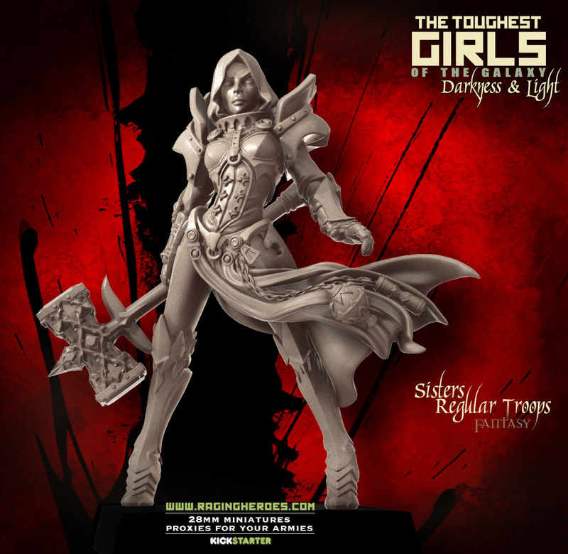 Loong Way Miniatures] Raging Heroes Consecrated Sisters