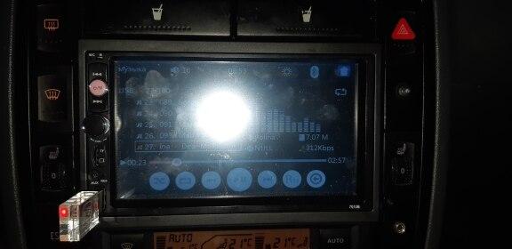 аудио автомобиля; 2 порта USB; 2DIN с DVD-диска;