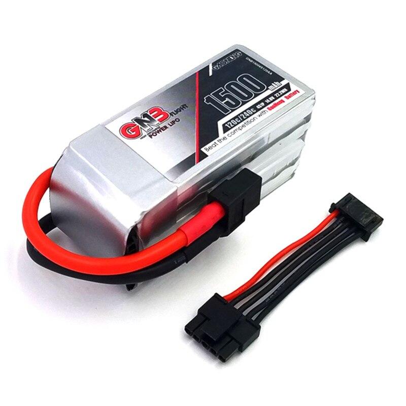 Rechargeable Lipo Battery Gaoneng GNB 14.8V 1500mAh 120C/240C 22.2WH FPV Racing Lipo Battery w/ Balance Wire vjoycar tk20sse 20000mah rechargeable removable battery