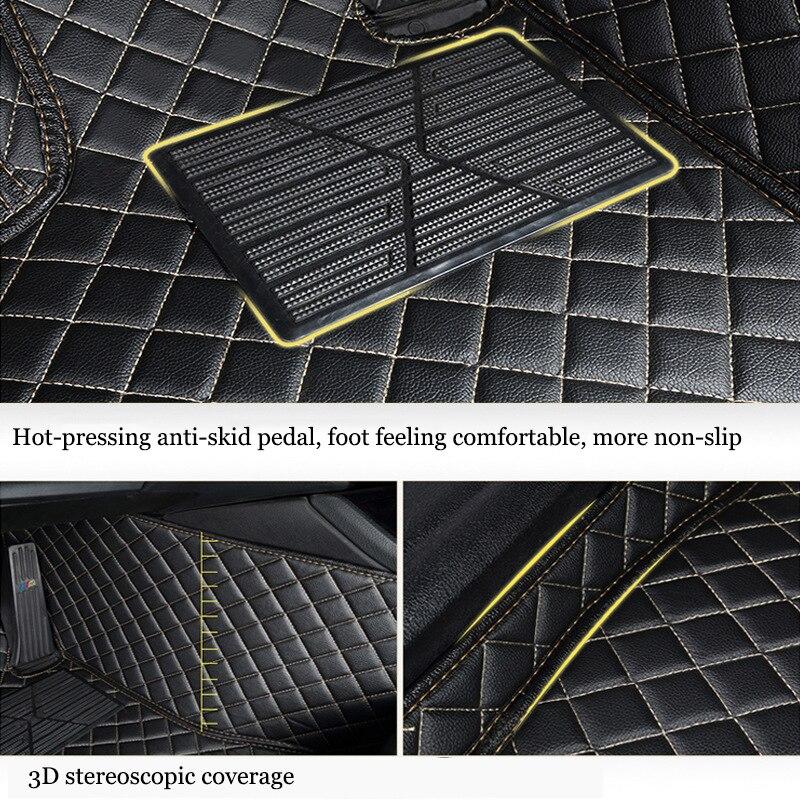 custom made Car floor mats for Mazda CX-5 CX-7 CX-9 MX5 ATENZA Mazda 2/3/5/6/8 All Models auto accessories car mats
