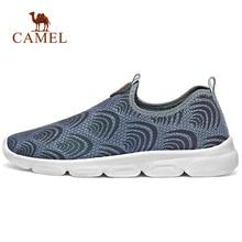 Walking-Shoes CAMEL Slip-On Summer Casual Mesh Outdoor Men Breathable Spring Ultralight