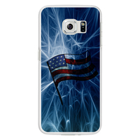 American Flag Phone Case Cover for for Samsung Galaxy S6 Edge