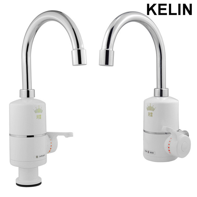 Kitchen Heating Faucet Stainless Steel Tube Tankless Water Tap Electric Hot  Water Heater Instant Heating Faucet Saintary Faucet
