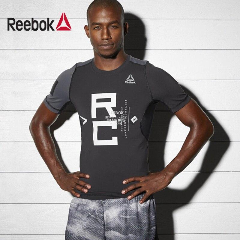 T-Shirt REEBOK BP8867 sports and entertainment for men men s korean version flaming sports car printing pattern short sleeve t shirt grey size xxxl