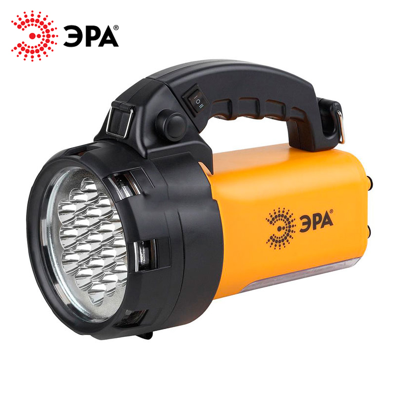 PA-601 ERA flashlight projector rechargeable ALPHA 19xLED + 24xLED, Li 3Ач, with charger 220 V + 12 V шуруповерт bosch gwi 10 8 v li 1 3ач 0 601 360 u08