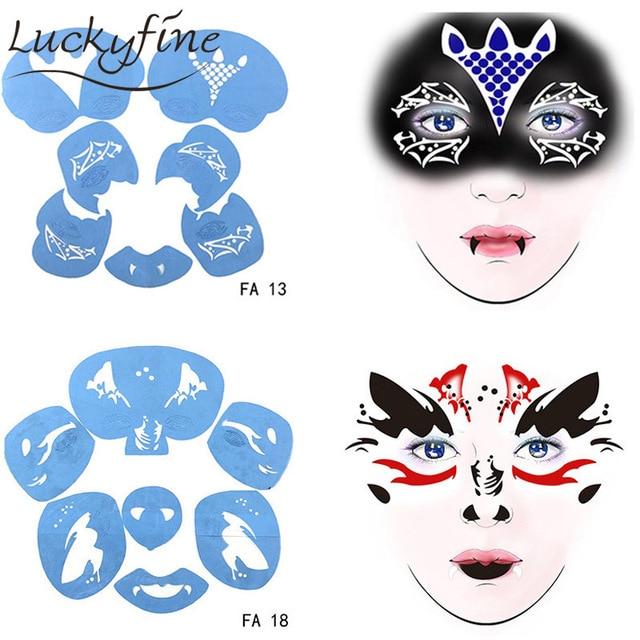 face stencils www