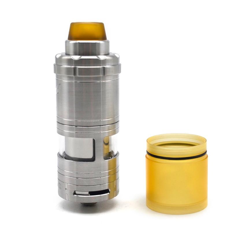 Cigarrillo electrónico Ulton VG V6S 25mm/23mm RTA atomizador de 5,5 ml bobina única/vape de relleno superior tanque para mods mech mod/vape de rosca 510-in Atomizadores de cigarrillo electrónico from Productos electrónicos    1