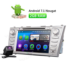 Camera & Eonon 8″ Android 7.1 Car CD DVD Player GPS Navigation For Toyota Aurion 2006-2011 Camry 2007-2011 Radio Stereo