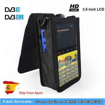freesat v8 finder Satellite finder meter Receptor Tuner DVB S2 satfinder with 3.5 LCD Dish MPEG-4 satFinder DVB-S2 HD Receiver