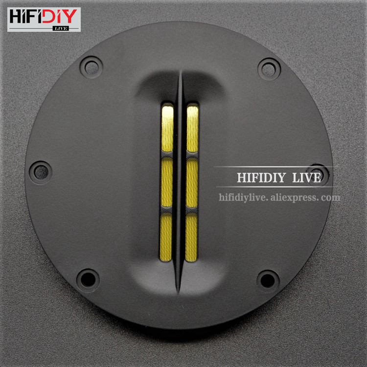 HIFIDIY LIVE Hifi 4 Inch Tweeter Speaker Unit 8 OHM 30W Treble Loudspeaker AL-100 Super Belt Type High Loudspeaker