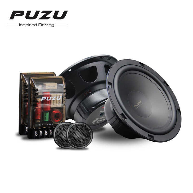 "PUZU PZ-6503S Crazy Fire series 6.5"" 2-way Component Car Speaker Sets for All Cars"