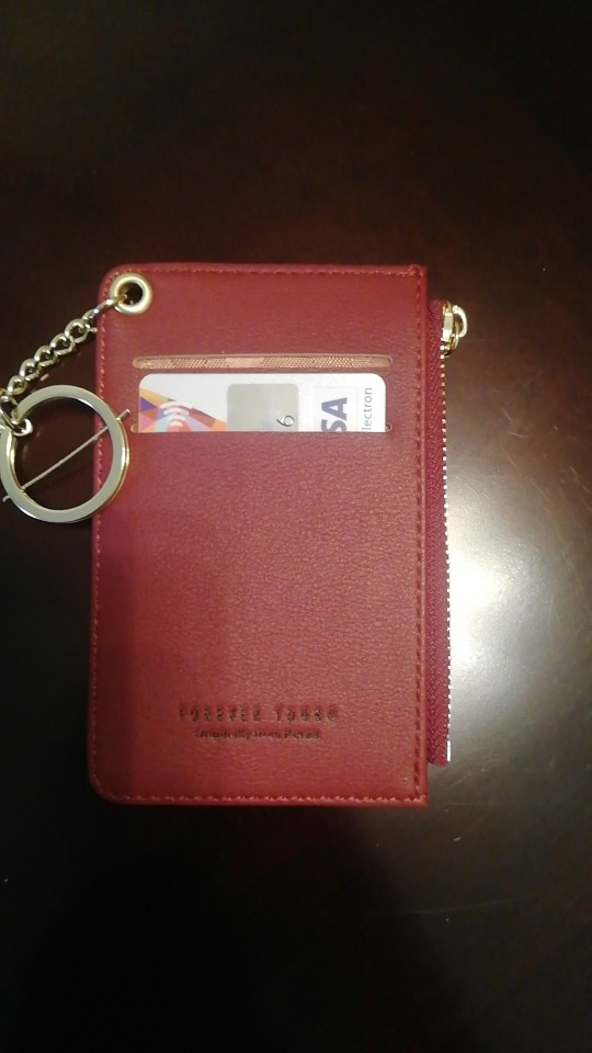 Brand Card Holder Women Soft Leather Key Chain Bag Small Card Wallets Female Organzier Mini Credit Card Case Zipper Coin Bags photo review