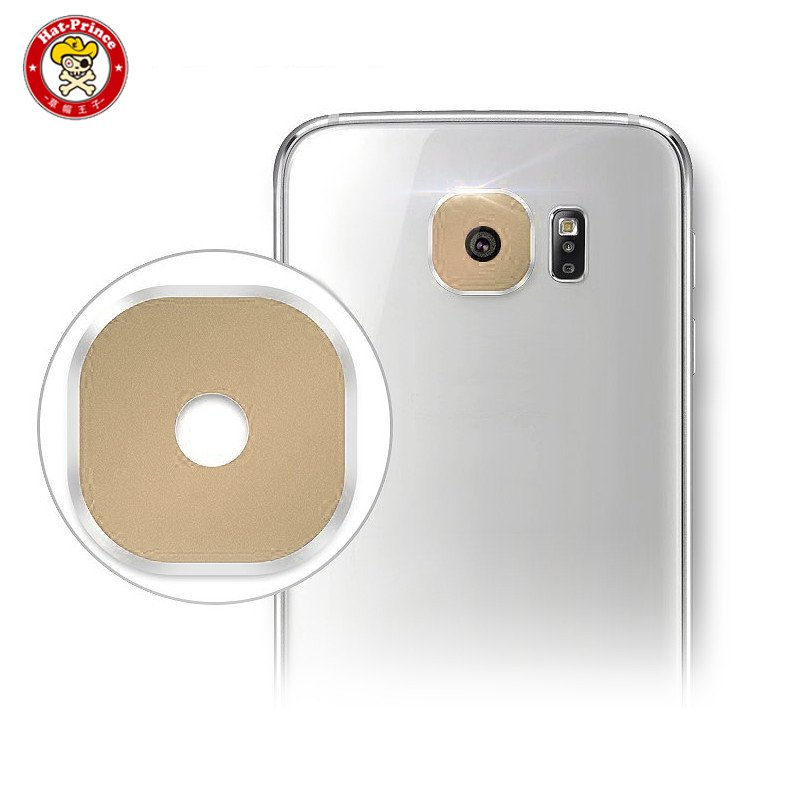 Hat-Prince Back Camera Lens Flash Tempered Glass Protector For Galaxy S7 S7 Edge Film Cover Mobile Phone Accessories