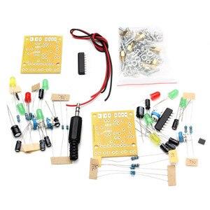 Image 3 - New Stylish Mini Individuality DIY Transparent Mini Amplifier Speaker Kit 65x65x70mm 3W Per Channel