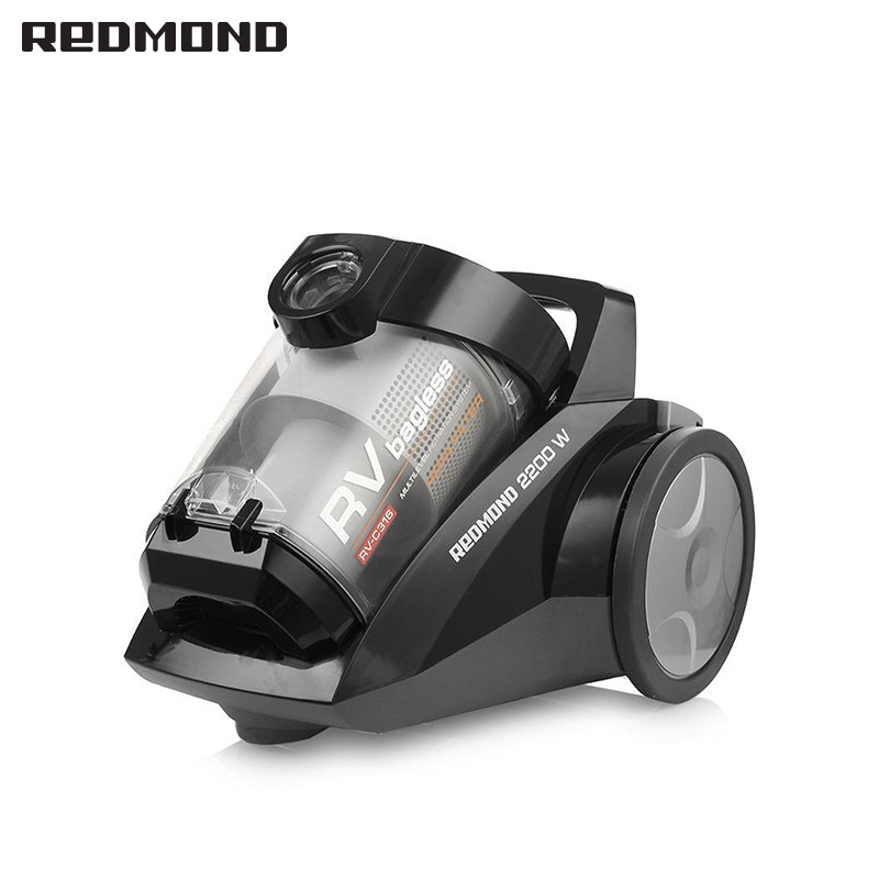 Vacuum cleaner REDMOND RV-C316 for home cyclone Home Portable household dry cleaning cyclone dustcontainer dust container canister vacuum cleaner for home puppyoo p9 aspirator powerful suction 2200w cyclone portable household cleaning appliances