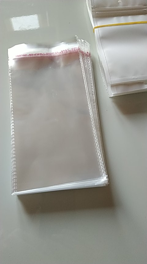 Clear Resealable Cellophane/BOPP/Poly Transparent  Plastic  Bags For Storage Self Adhesive Seal free shipping