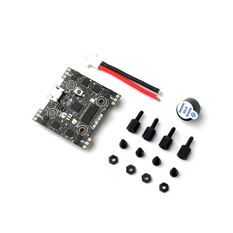 Hot New Fusion X3 AIO Omnibus F3 Flight Controller OSD 5A 1S Blheli_S Brushless ESC Dshot600 For RC Models Quadcopter Spare Part 4set lot universal rc quadcopter part kit 1045 propeller 1pair hp 30a brushless esc a2212 1000kv outrunner brushless motor