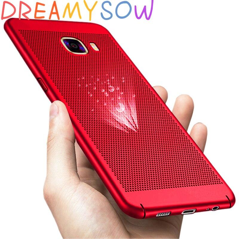 Cooling Case For Samsung Galaxy J1 J2 J5 J7 Prime J320 J3 J510 J5 J710 J7 2016 J3 J5 J7 Pro Cover For S6 S7Edge S8 S9Plus Capa
