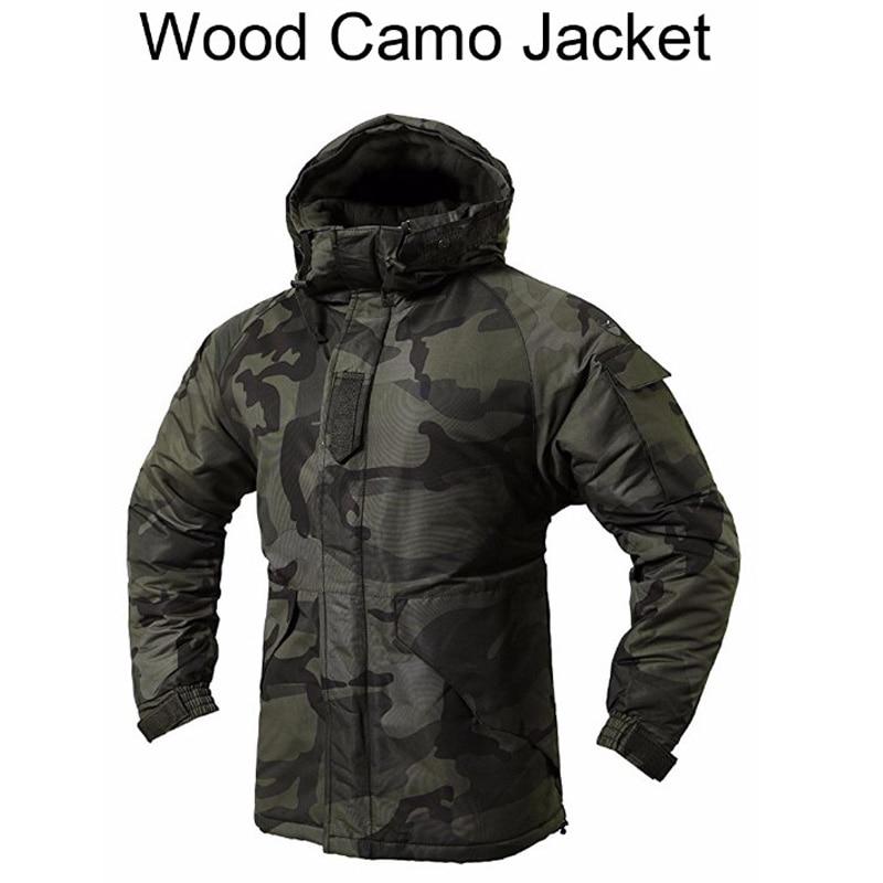 дерево для сноуборда - New Edition Southplay Winter Ski & SnowBoard Water Resistant Wood Land Camo Military Jacket