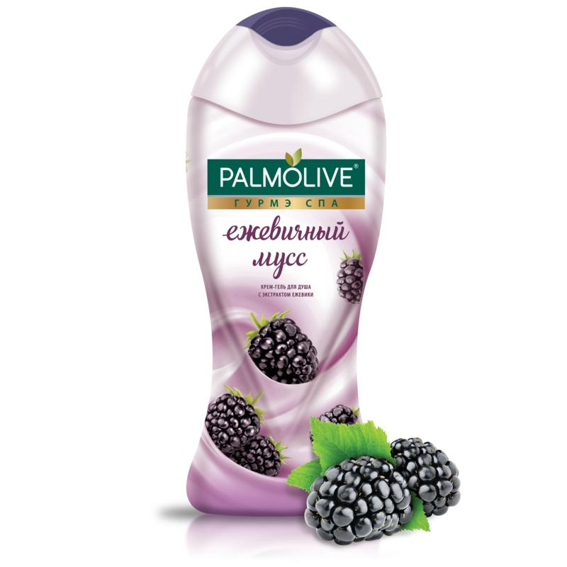 Shower Gels PALMOLIVE Gourmet SPA Blackberry Mousse cream-shower gel with blackberry extract, 250 ml Beauty aluminum 1 tier 40cm wall mounted bathroom shelf washing shower basket with towel bar hooks shelves accessories storage 809015
