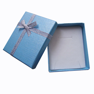 Image 5 - 24pcs Paper Gift Box with White Sponge 7x8x2.5cm Jewelry Display Box for Jewellery Necklace Ring Earring Storage Packing