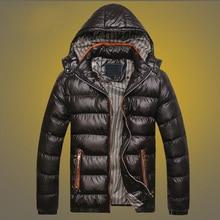2019 British fashion winter jacket men thick velvet warm parka men 5 colors outw
