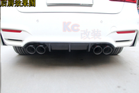 for F30 TAIWAN AN M3 bodykit bumper carbon fiber P style diffuser 2012 up car styling accessories