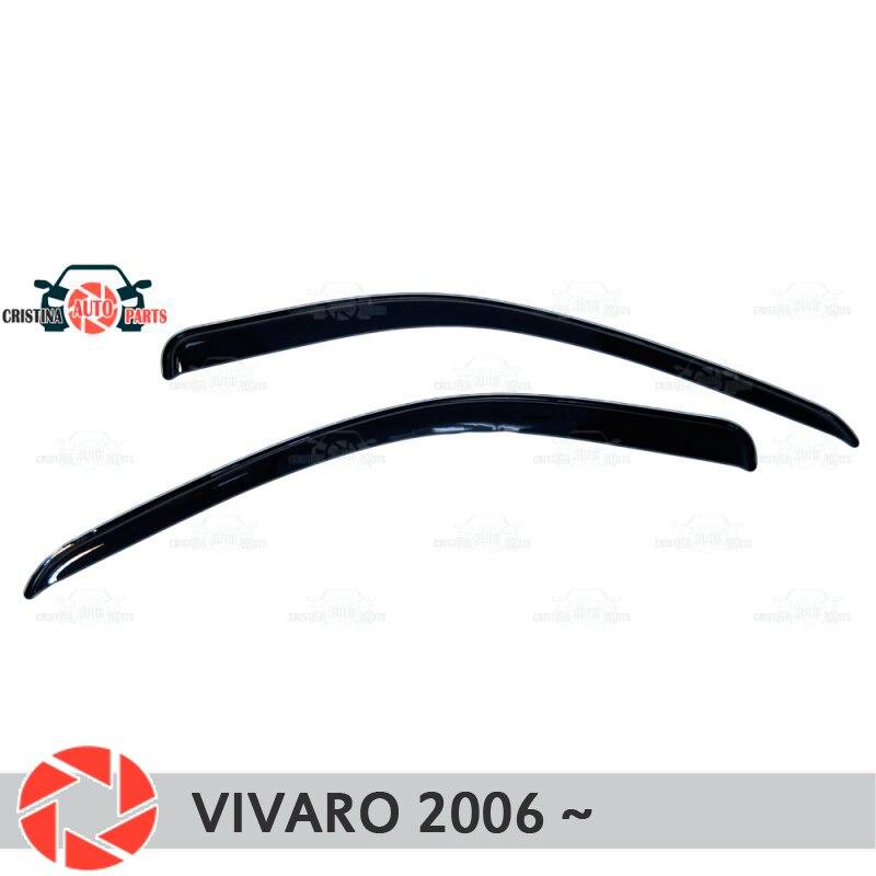 купить Window deflector for Opel Vivaro 2006- rain deflector dirt protection car styling decoration accessories по цене 1550 рублей