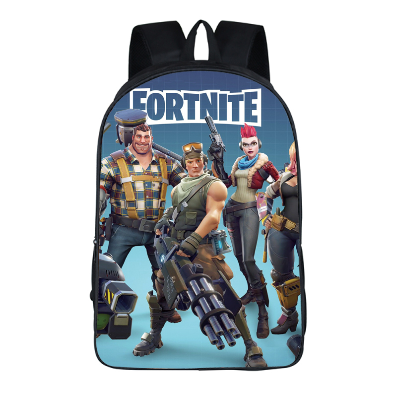2018 PS4 Game Fortnite backpack School Bags student bookbag Famous Orthopedic Backpack Boy gril Mochila Teenagers travel package
