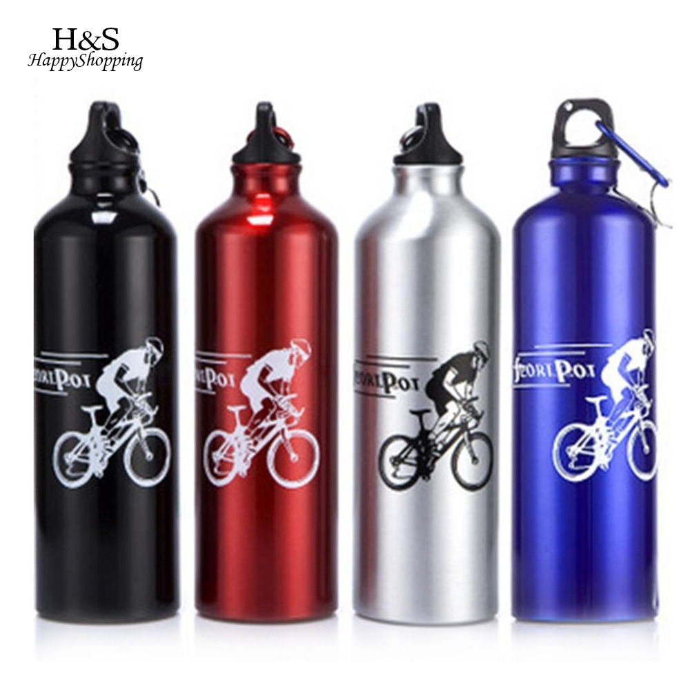 Portable 700ML Bicycle Water Bottle Mountain Bike City Bike Outdoor Cycling Water Bottle Cycling Accessories For Outdoor Sport