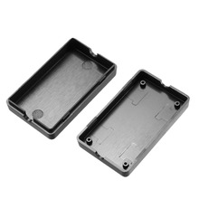 Uxcell Black 2.36x1.42x0.67inch / 60x36x17mm Plastic ABS DIY Electronic Junction Box Enclosure Case For Small Terminal 4pcs/lot