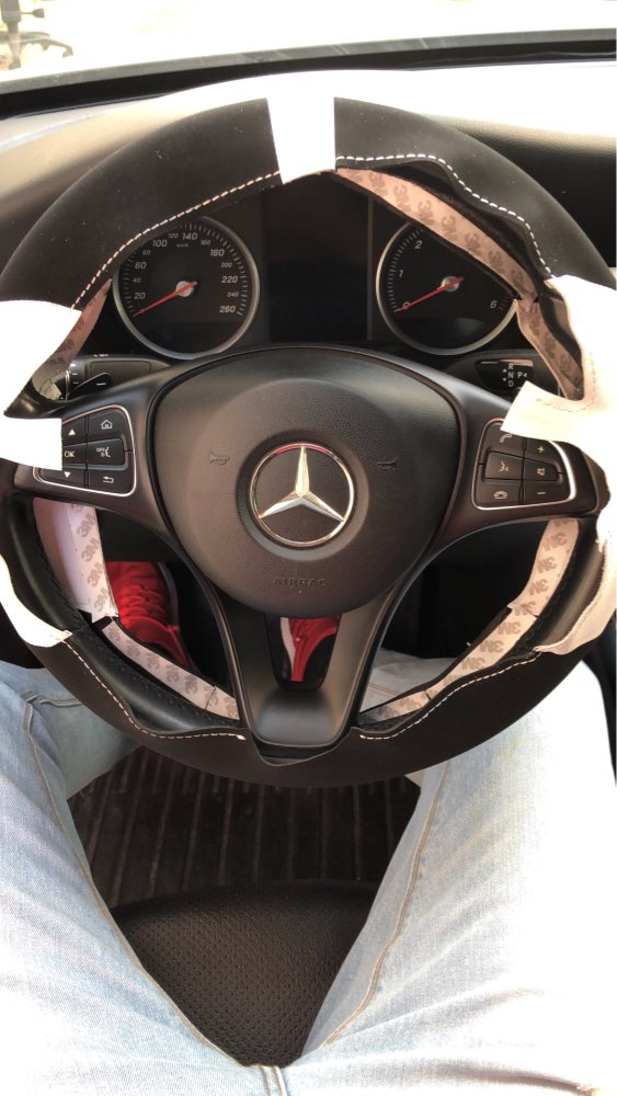 Mercedes SLS R 197 a partir de 10.10 tapices gamuza negro con borde rojo