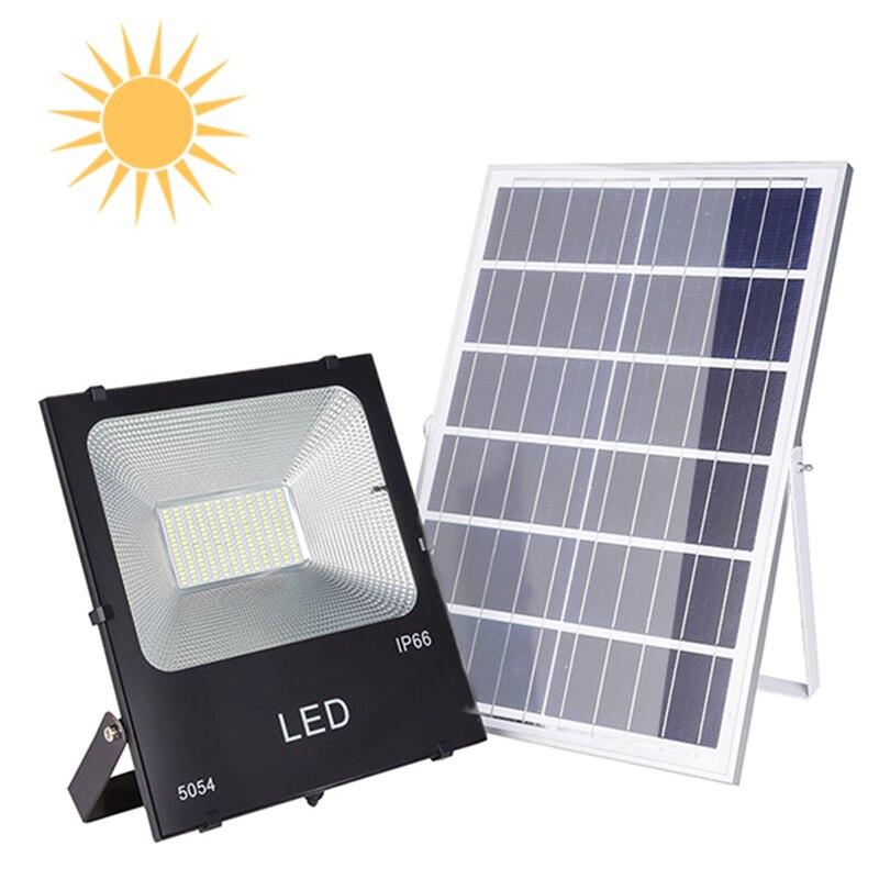 Nuovo Paesaggio Foco Ha Condotto I Proiettori Costruzione Ha Condotto La Lampada 20W 30W 50W 100W 150W Esterna Solare lampada Motion Lampadina Del Sensore