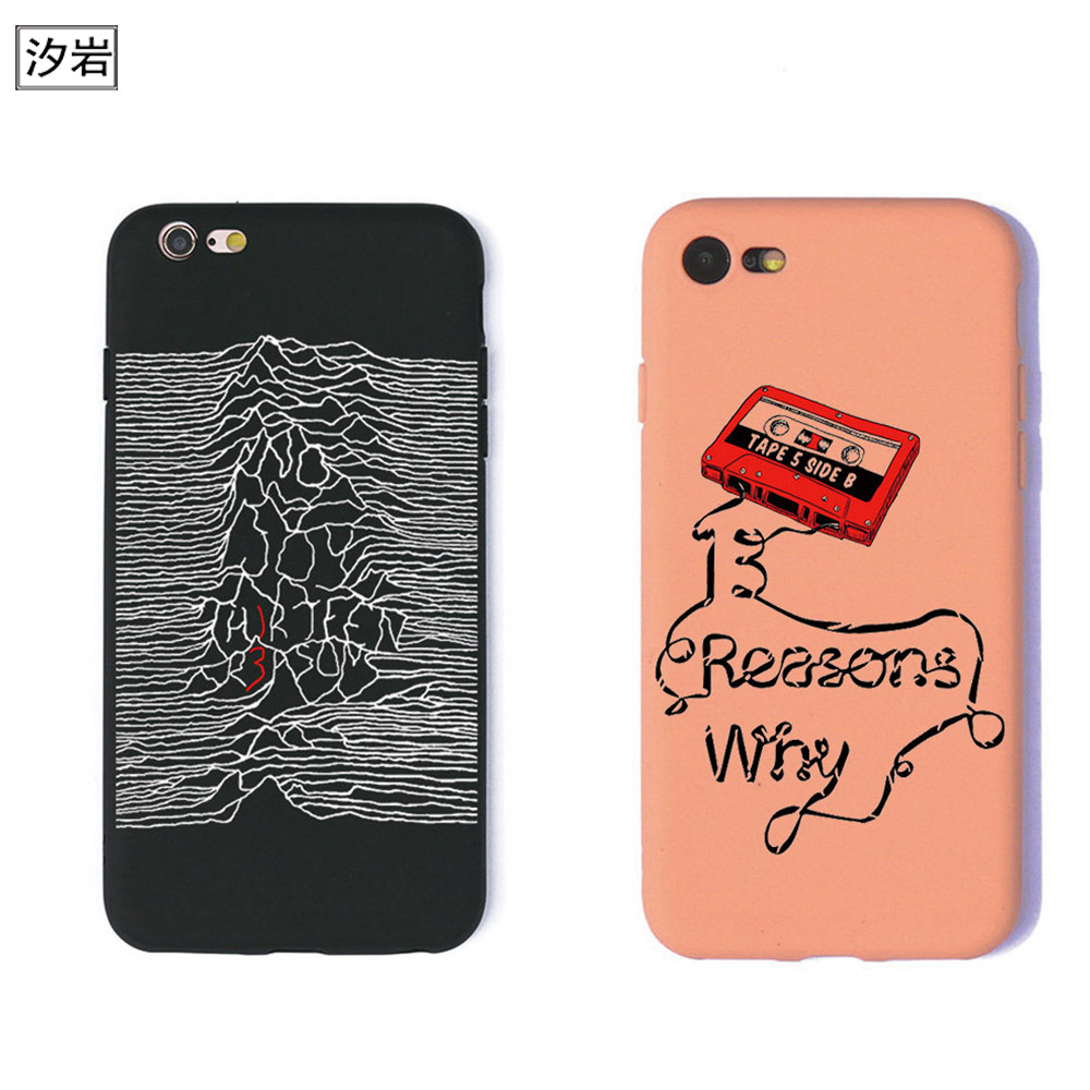 TPU silicon phone <font><b>case</b></font> Thirteen <font><b>13</b></font> <font><b>Reasons</b></font> <font><b>Why</b></font> Quotes cover for <font><b>iPhone</b></font> 7 plus 5 5s se 6 6s cheap cell phone covers