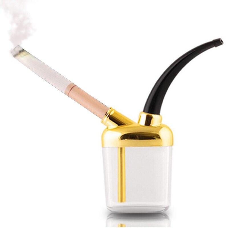 ❤️ Plastic Popular Bottle Water Pipe Portable Mini Hookah Shisha Tobacco  Smoking Pipes For Smoking