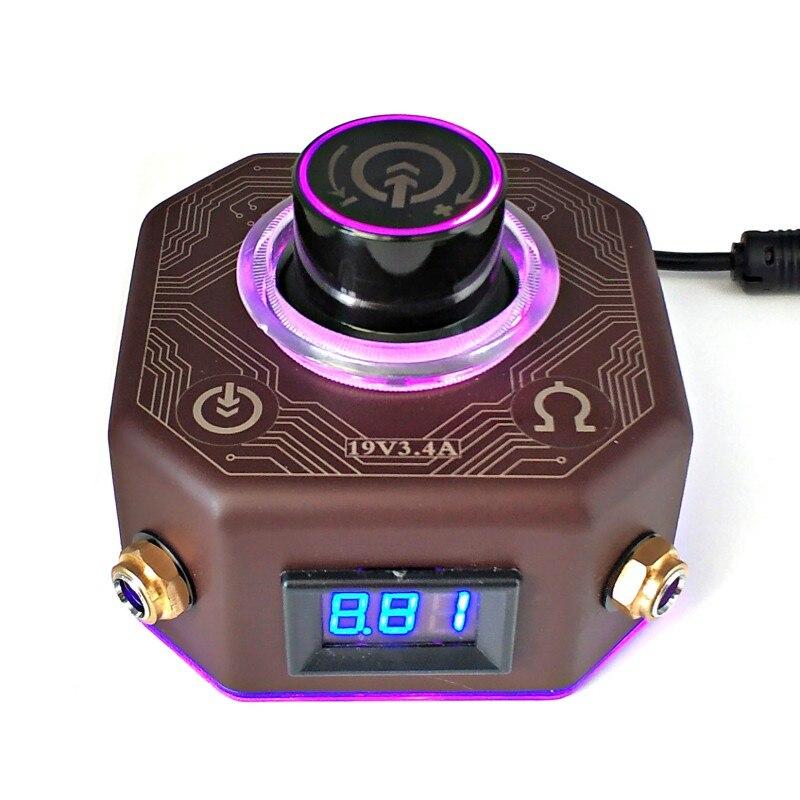 Güzellik ve Sağlık'ten Dövme Güç Kaynağı'de Pro LED Dövme Güç Kaynağı 3A Güç gösterge ışığı Manyetik Taban'da  Grup 1
