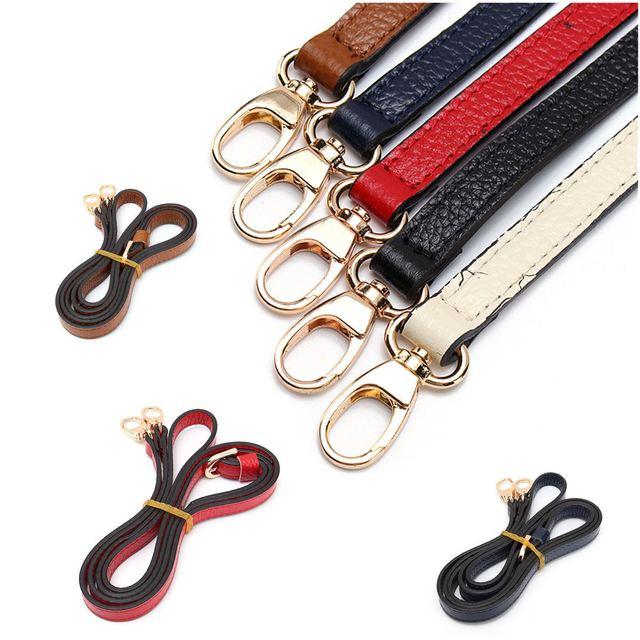 Cow Leather Diy Bag Straps Replacement Shoulder Belts Adjule Strap Belt For Long Handbag