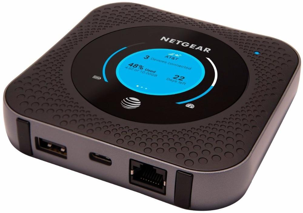 US $228 0 |US version M1 AT&T Unlocked NETGEAR Nighthawk M1 MR1100 CAT16  Hotspot Wifi Router Support B1/B2/B3/B4/B5/B7/B12/B29/B30B/66-in 3G/4G