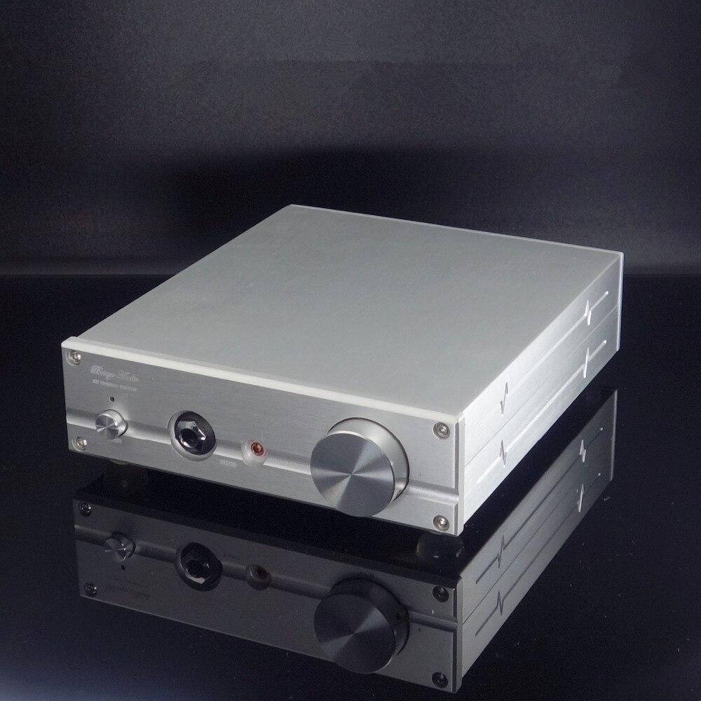 Finito E50 Argento Classe A Amplificatore Per Cuffie HiFi Amplificatore di Potenza sulla Base di ARCAM circuito