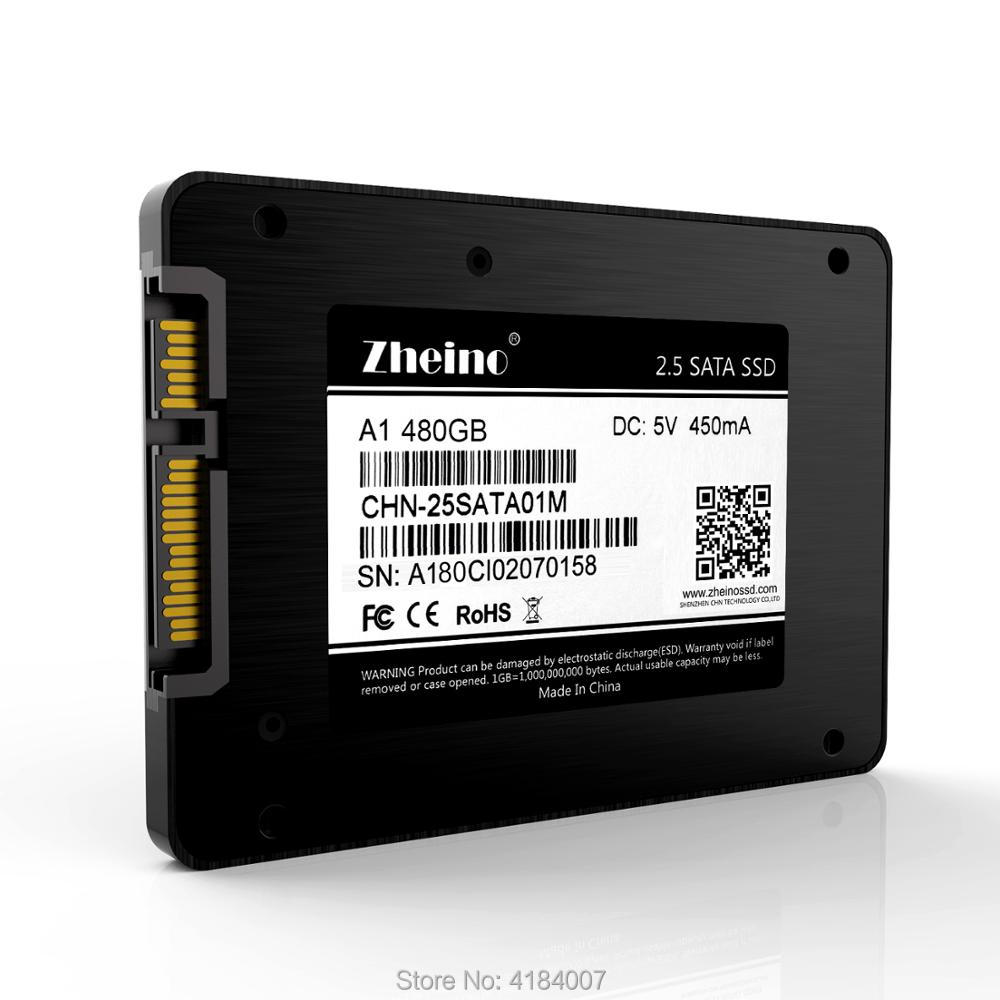 2.5 Inch SATA3 480GB SSD Hard Dirve Zheino High speed 2D MLC NAND Flash Memory A1-480GB Internal Solid State Disk Drive 2 5 inch sata3 120gb 240gb 480gb ssd hard dirve zheino high speed 2d mlc nand flash memory a1 internal solid state disk drive