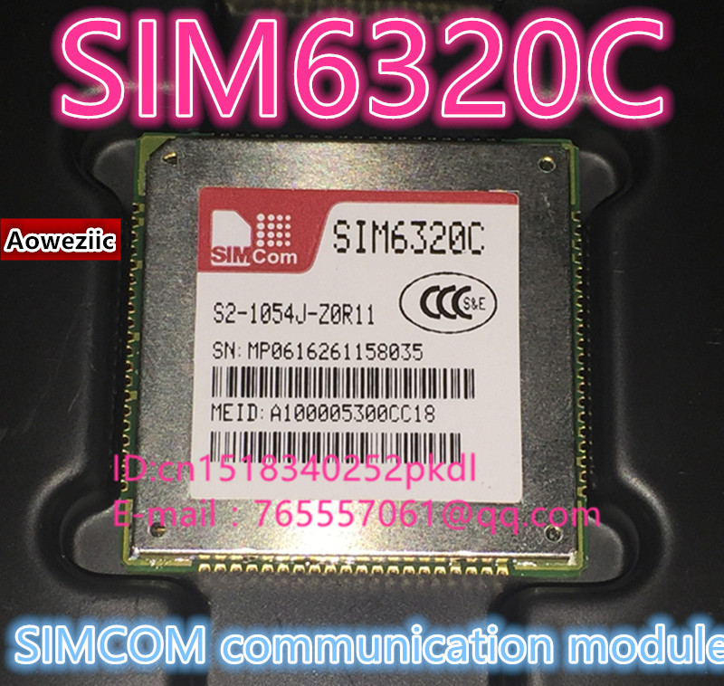 все цены на (1PCS)(5PCS)(10PCS)(50PCS) 100% New original SIM6320C communication module 1 XRTT/ev-do 3G module онлайн