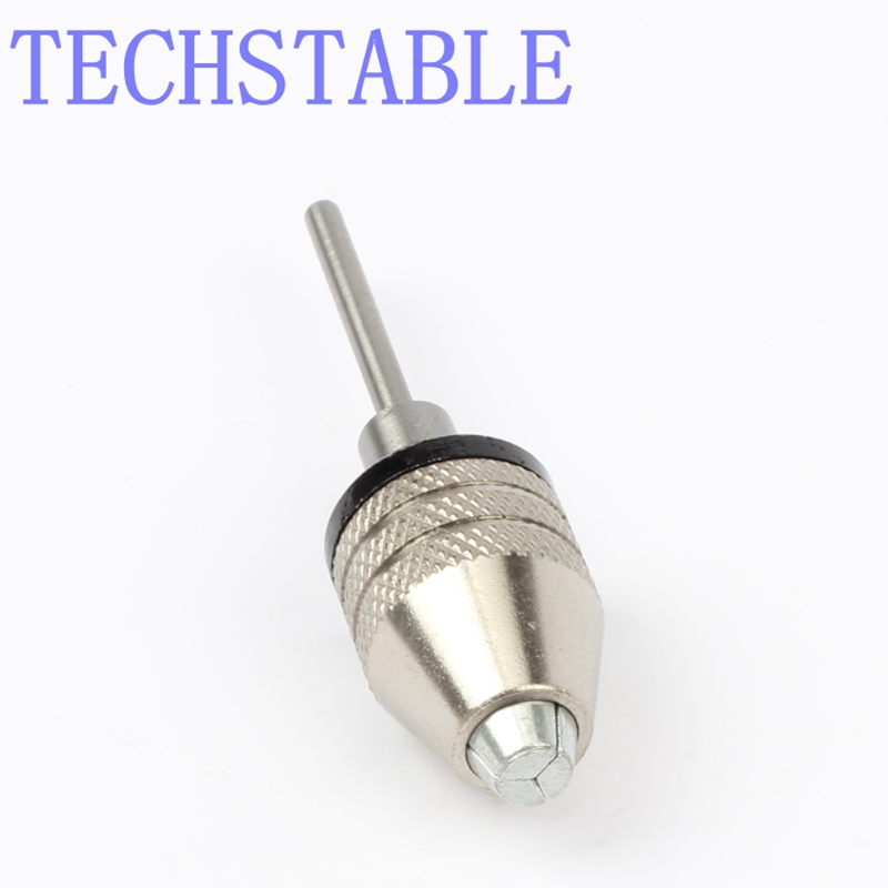 Round handle three claw chuck 0.3~3.4mm Quick Change Adapter Drill Bit Converter Engraving Machine 2.35mm Connecting Shaft  New