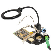 SN 396 Magnifying Glass Magnifier with LED Light for Soldering Solder RC Parts Tools For RC FPV Model Accessories