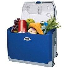 Холодильник автомобильный MYSTERY MTC-401 (Напряжение питания 12В/220В, объем 40 л, макс.мощность 55 Вт, охлаждение на 12-16°С ниже окружающей среды, нагрев до +55°С, антибактериальное внутреннее покрытие)