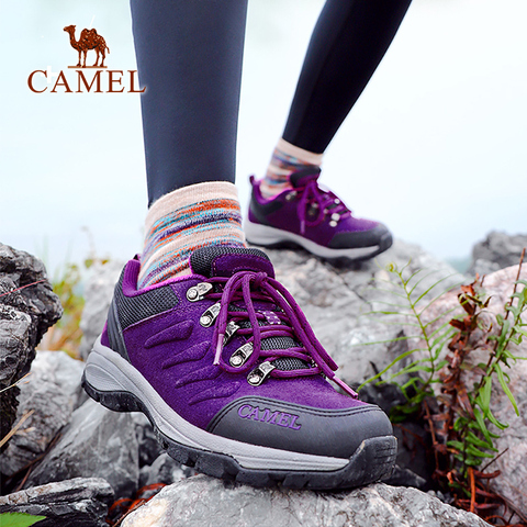CAMEL Women Outdoor Hiking Shoes Anti-skid Shock Breathable Female Camping Trekking Hiking Sneakers Islamabad