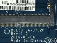 BiNFUL HOT IN RUSSIA 100% NEW BDL50 LA D702P FOR HP 15 AY MOTHERBOARD ONBOARD N3710 PROCESSOR